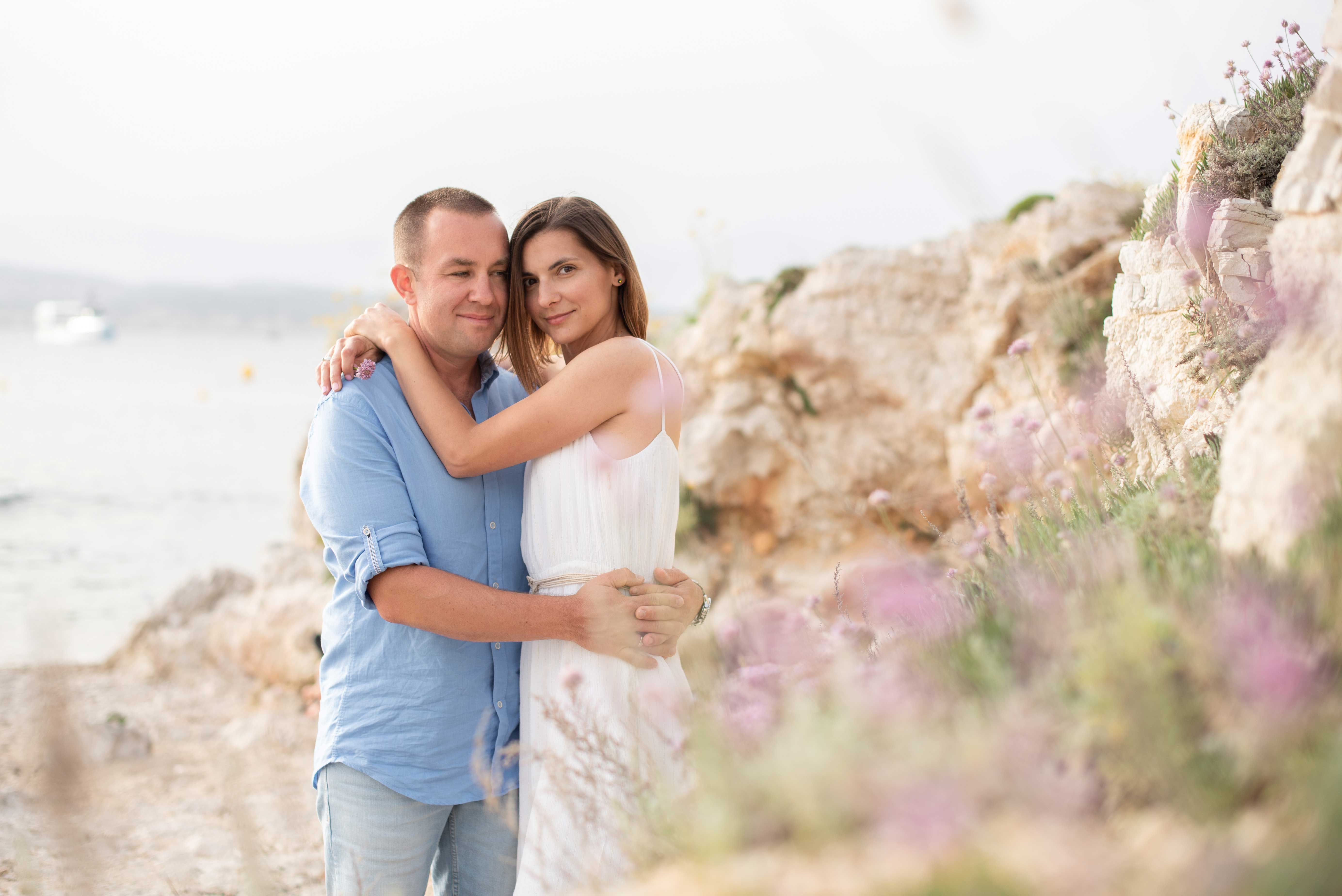 Shooting photo couple à Nice 06