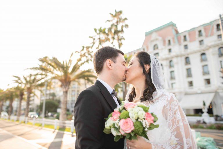 Viviana et Benjamin – la cérémonie à Nice